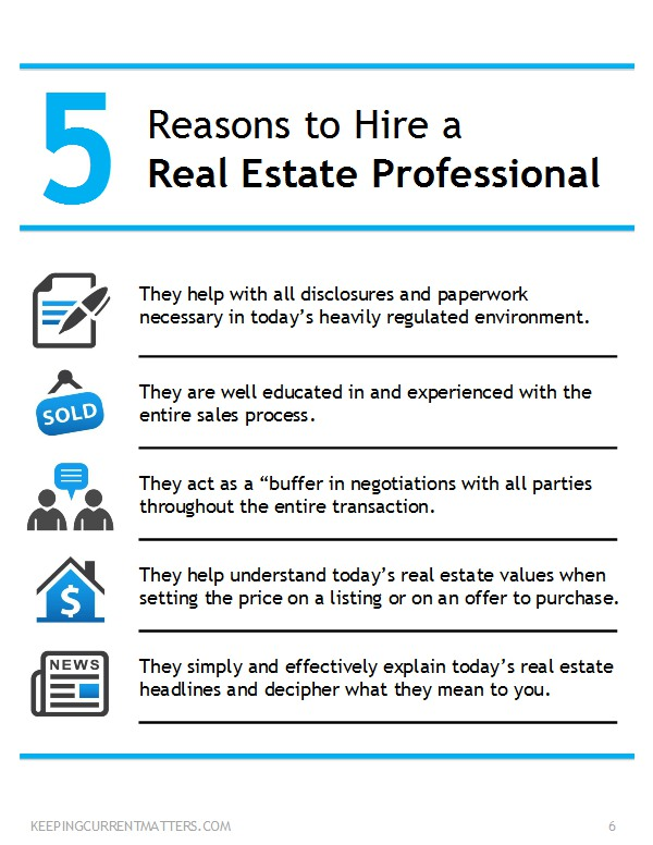 5 Reasons to hire a real estate professional - Josh Barker Real Estate Advisors